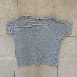 Splendid Super Soft Loose Fitting Gray Tee Sz XS